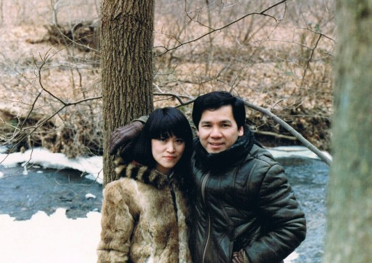 my parents in the reservation