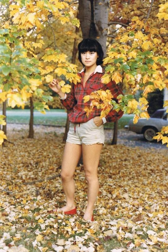 autumn in short shorts?