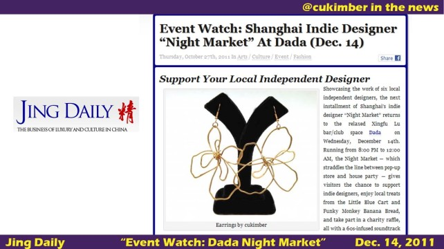 jing daily, dada night market,shanghai fashion, cukimber,local designers shanghai