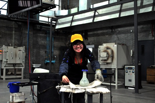 my vase DIY Class Shanghai Museum of Glass